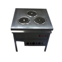 Commercial Three Coil Electrical Stove