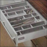 Grey Cutlery Tray For Drawer
