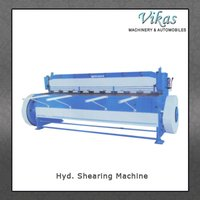 Hyd. Shearing Machine