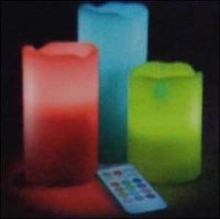 Colourful Led Candles Light