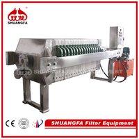 Chamber Sludge Dewatering Machine