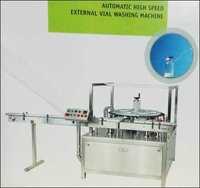 Automatic High Speed External Vial Washing Machine