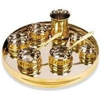 Brass Copper Thali And Bowls