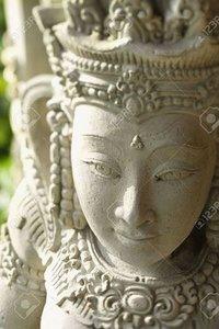 Goddess Stone Statue