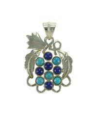 Lapis Turquoise Pendant