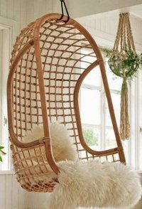 Solid Cane Ultra Chic Swing Chair