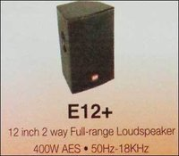 2 Way Full Range Loudspeaker (12 Inch)