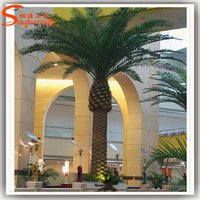 Artificial Date Palm Tree For Hotel Decoration