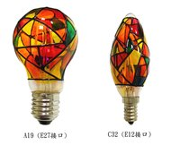 Led Tiffany Lamp Stained Lamp