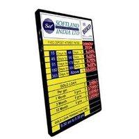 Gold Rate Display Board