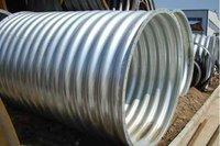 Circular Monoblock Corrugated Galvanized Culvert Pipe