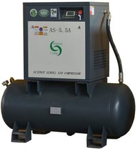 Scroll Compressor As0.66-5.5g(5.5hp With Air Tank)