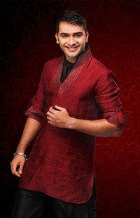Attractive Color Linen Short Pathani Kurta