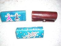 Ladies Leather Lipstick Cases