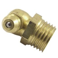 Bent Brass Grease Nipple Nozzle