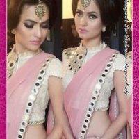Mirror Work Designer Saree