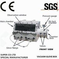 Laboratory Glove Box with Pressure Control System