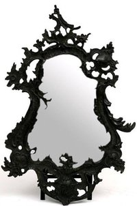 Cast Iron Mirror