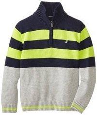 Collar Striped Sweaters