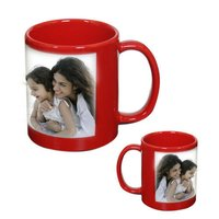 Red Sublimation Mugs