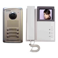 Multi Apartment Video Audio Door Phone