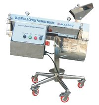 Capsule Polishing And Dedusting Machine