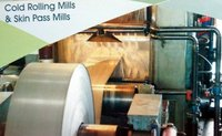 Cold Rolling Mills And Skin Pass Mills