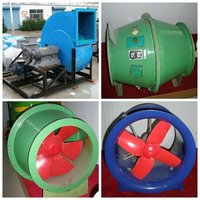 Frp Industrial Roof Mounted Exhaust Fan Roof Cooling Blower