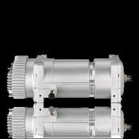 Semi-Hermetic Frequency-Controlled Scroll Compressor