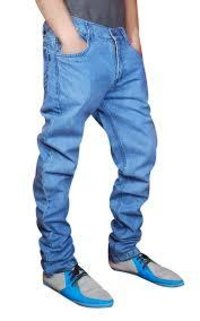 Navy Blue Jeans Pant