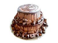 2 Tier Chocolate Cake