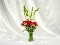 Romantic Flowers Vase