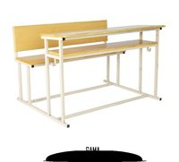 School Wooden Bench