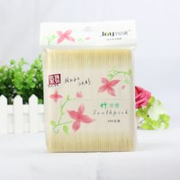 800pcs 100% Pure Wooden Bamboo Toothpicks