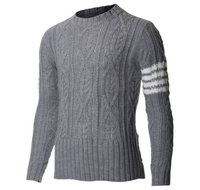 Jacquard Cotton Sweaters