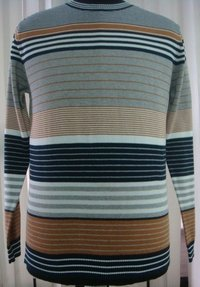 Mens Striped Sweater