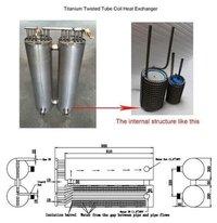 High Efficiency Titanium Threaded Pipe Heat Exchanger