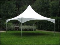 White Spring Top Tent