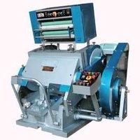 Platen Die Cutting Machine With Hot Foil Attachment