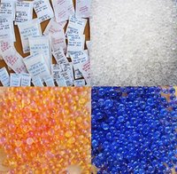 Silica Gel And Crystal