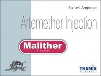 Inj. Malither Artemether 80mg And 40mg /Ml