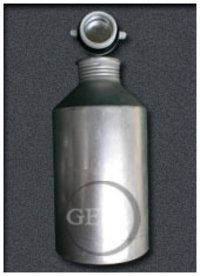 Extra Broad Outer Aluminium Bottles