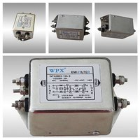 10a 50a 100a Single Phase Ac Emi Filter