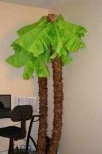 Papermade Palm Tree