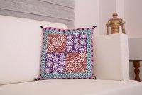 Cushion Cover Sanganer Geometric Print