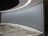 Auditorium Curved Projection Screens