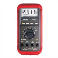 Digital Multimeter With Analog Bar Graph And Pc Interface
