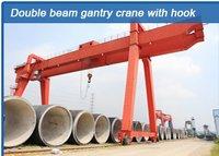 Double Beam Gantry Crane With Hook