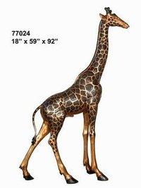 Tall Giraffe Statue