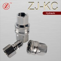 Straight Through Foster Series Hydraulic Quick Coupler